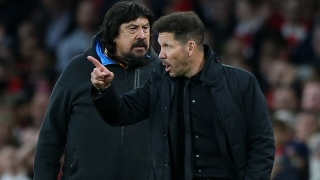 Atletico Madrid coach Simeone happy Camello scored on debut