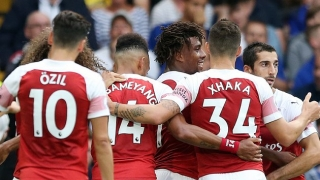Holding rates ​Arsenal team chemistry as 'top-class'