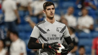 Belgium coach Martinez: Real Madrid keeper Courtois never rattled