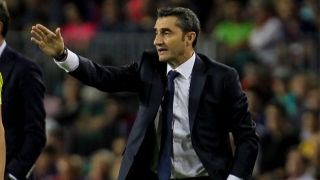 Barcelona coach Valverde hopeful of striker signing