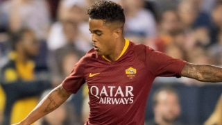 Roma winger Kluivert hoping Smalling, Mkhitaryan stay