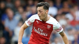 WATCH: Aubameyang rips Arsenal teammate Ozil watching Leicester highlights