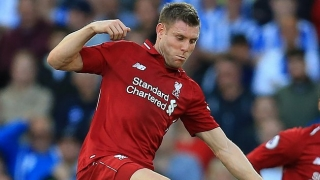 Liverpool veteran James Milner: Man City won't suddenly collapse