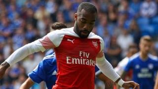 Alexandre Lacazette eases talk of leaving Arsenal
