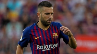 Barcelona fullback Alba unimpressed by questions after Girona win