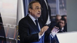 Real Madrid president Florentino full of praise for James