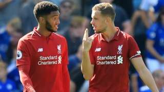 Southgate delighted with leadership of Liverpool captain Henderson