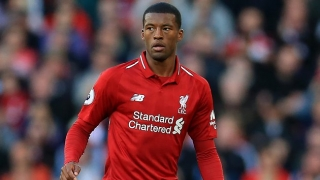 Liverpool midfielder Gini Wijnaldum: Our results falling short of expectations