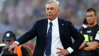Napoli coach Ancelotti concedes Champions League hopes wide open