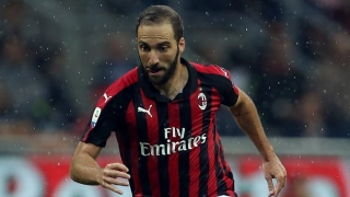 AC Milan striker Higuain travels to London for Chelsea medical