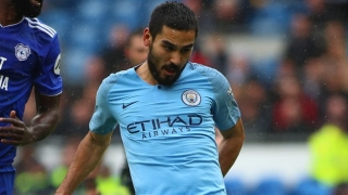 Man City midfielder Gundogan eases Inter Milan rumours