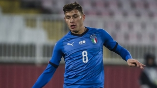 Cagliari midfielder Barella insists Italy are progressing