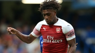 WATCH: Arsenal midfielder Alex Iwobi hands MOM award to father