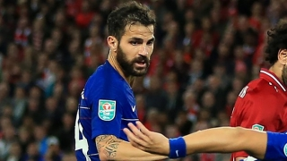 Simeone wants Chelsea midfielder Fabregas to join Atletico Madrid