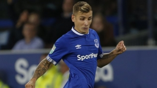 Everton fullback Digne delighted with Burnley reaction