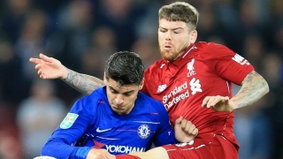 Liverpool make decision on fullback Alberto Moreno