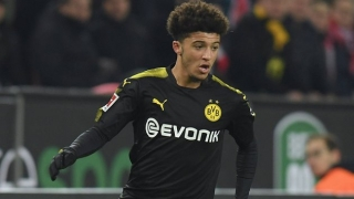WATCH: Jadon Sancho struck by missile in BVB defeat