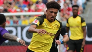 Borussia Dortmund winger Sancho honoured to play in Rooney farewell game