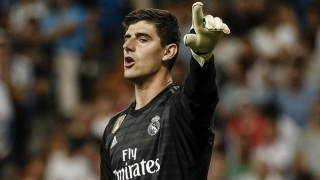 Thibaut Courtois misses Real Madrid training