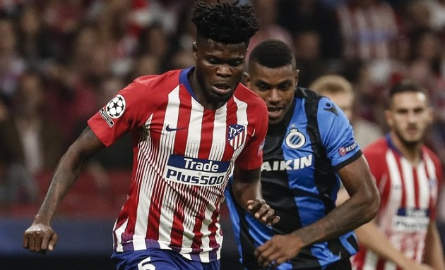 Arsenal, PSG in Atletico Madrid contact for €50M Thomas