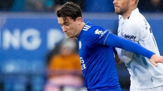 Man City remain in hunt for Leicester fullback Ben Chilwell