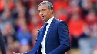 Brighton boss Hughton relieved to overcome Derby