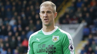 Burnley keeper Hart: Best advice Kompany gave me