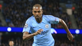 Man City boss Guardiola: Fernandinho, Silva must keep playing as long as they can