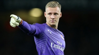 Arsenal keeper Leno: Difficult to watch Cech in Europa League