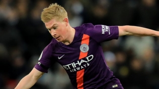 Man  City attacker De Bruyne: Muric has veins of ice