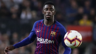 Barcelona coach Valverde forced to discuss Dembele's timekeeping