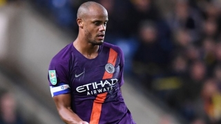 Kompany leaves Man City with demand to teammates
