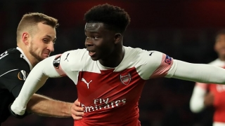 Arsenal whiz Bukayo Saka delighted with 2-goal U23 blast