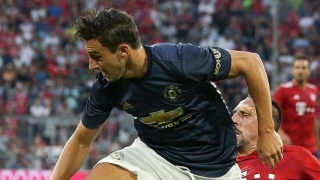 Man Utd fullback Darmian Serie A return hopes shutdown