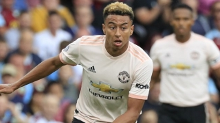 SNAPPED! Lingard trains with fellow Man Utd FYC winners Morrison, Cole