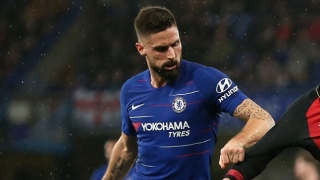 Chelsea striker Giroud opens door for France return