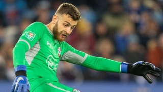 Southampton keeper Angus Gunn happy with his progress at Stoke