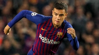 Barcelona set sale price for Man Utd target Coutinho