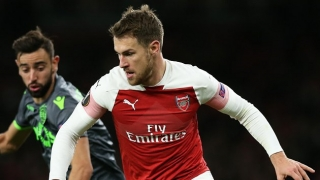 ​Ramsey returns to Arsenal training