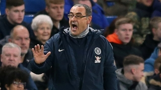 ​Chelsea players unhappy with Sarri training sessions