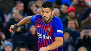 Barcelona confirm injury setback for Luis Suarez