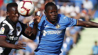 Getafe defender Djene Dakonam interesting Leicester