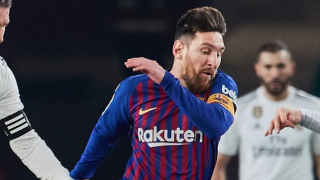 Barcelona ace Lionel Messi thanks Real Betis fans after wonder goal