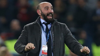 Sevilla coach Julen Lopetegui happy working with Monchi