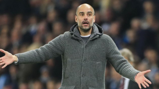 Barcelona great Iniesta pays tribute to Man City boss Guardiola