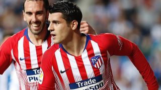 Renan sent off as Atletico Madrid defeat Getafe