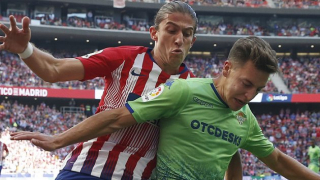 Lyon jump into battle for Atletico Madrid fullback Filipe Luis