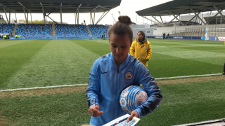 DONE DEAL: Parris leaves Man City women for Lyon berth