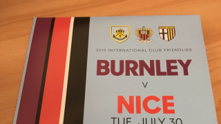 ​FRIENDLY: Burnley hit woeful Nice for six
