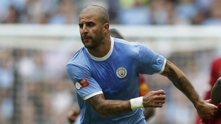 ​Kyle Walker fighting to keep Man City spot